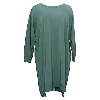 Zuda Petite Abito Z Knit Sneaker Long Sleeve Green A384404