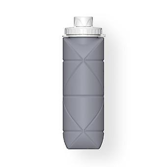 Skandinavisk stil 600ml utomhus vikbara hopfällbara vattenflaskor