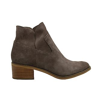 Steve Madden Womens Leo Cuir Amande Toe Ankle Fashion Boots