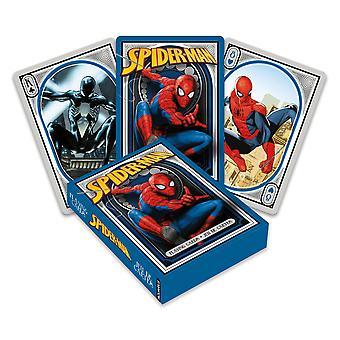 Marvel - hämähäkkimies pelaa korttia