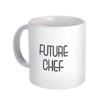 ספל מתנה: מקצוע השף העתידי