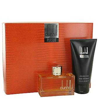 Dunhill Pursuit par Alfred Dunhill Gift Set - 2.5 oz Eau De Toilette Spray + 5 oz baume après-rasage