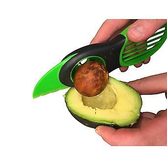Multifunktionelle Køkken Gadgets Tool Avocado Cut Slicer-3in1