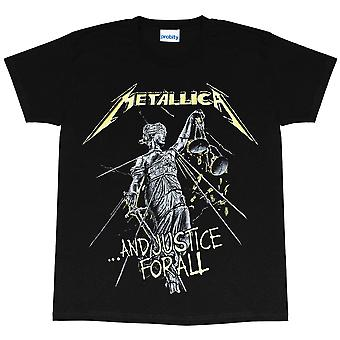 Metallica Womens/Ladies Justice For All Boyfriend T-Shirt