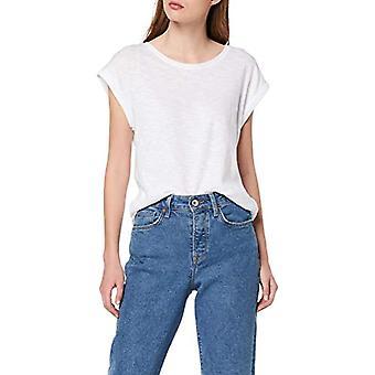 ESPRIT 039ee1k040 T-Shirt, White (White 100), X-Small Woman