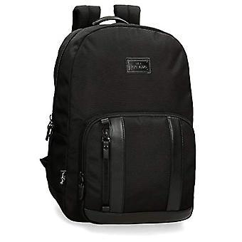 Pepe Jeans Allblack Backpack Casual 44 centimeters 21.12 Black (Negro)