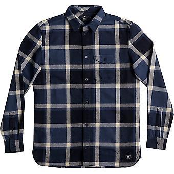 DC Marsha Long Sleeve Shirt in Washed Indigo