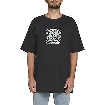 Volcom prog Star Lyhythihainen T-paita musta