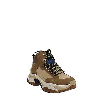 | de cenizas Zapatillas de plataforma Alfa Mid-Top