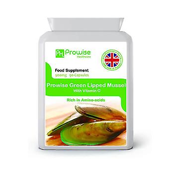 Green Lipped Mussel 500mg 90 Capsules | Made In UK by Prowise