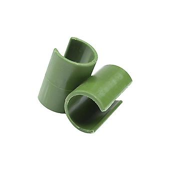 10 Pcs Cross Plastic Clips Plant Support Fixed Connector