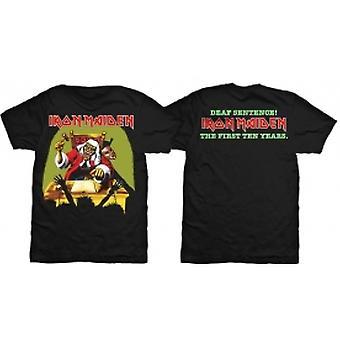 Iron Maiden Døv Setning Mens Svart TShirt: XXL