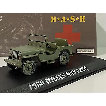 M*A*S*H 1950 Willys M38 1972-83 Série TV 1:43 Échelle Greenlight 86594