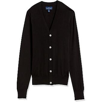 Marca - Buttoned Down Men's 100% Supima Cotton Cardigan Sweater