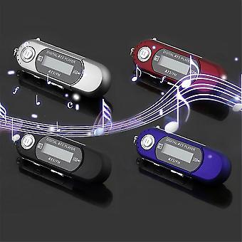 Mini USB 2.0 Flash Disk Vysokorychlostní přenos Lcd displej Mp3 Hudební přehrávač