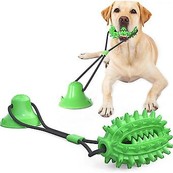 Dog Rope Ball With Suction Cup, Dog Chew Toys For Aggressive Chewers