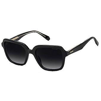 Polaroid Full Rim Square Sunglasses - Black