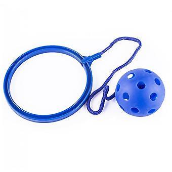 קפיצות צעצוע סווינג כדורים - משחק כושר נהדר לילדים (כחול)
