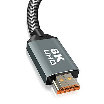 HDMI 2.1 8K 120Hz Ultra HD Cable with Ethernet 1.5m HD-8K16 LinQ Black