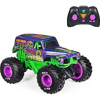 Monster Jam Official Grave Digger Freestyle Force Remote-Control Car