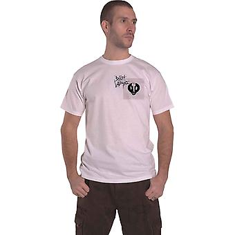 Bullet For My Valentine T Shirt Album Cropped Band Logo Official Mens White