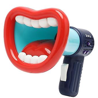 Blue funny voice changer recording laughter megaphone amplifier big mouth recorder zf0490