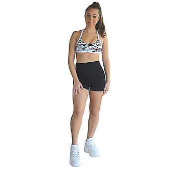 Kali Seamless High Rise Yoga Shorts - Black
