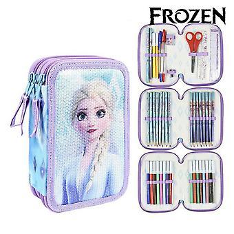 Triple Pencil Case Gioto Frozen