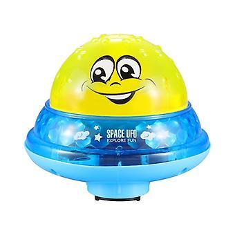 Fürdő játékok Spray víz lámpa forog zuhanyzómedence automatikus LED light kids ajándék| Fürdő toy