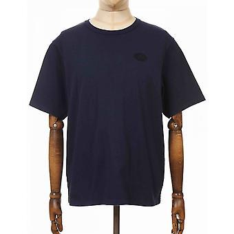 Edwin Jeans Fuji Sans Ii Tee - Navy Blazer