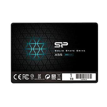 Silicon Power A55 1000GB, SSD interface SATA, Write speed 530MB/s, Reading speed 560MB/s