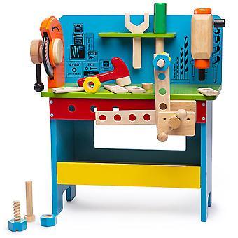 Drewniany Stół warsztatowy Powertools