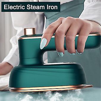 Kädessä pidettävä sähköinen rauta minivaatehöyrystin Märkä ja kuiva kaksinkertainen kuuma höyryrauta vaatteisiin, jotka matkustavat kotiin pyörivä keraaminen pohjalevy silityskone