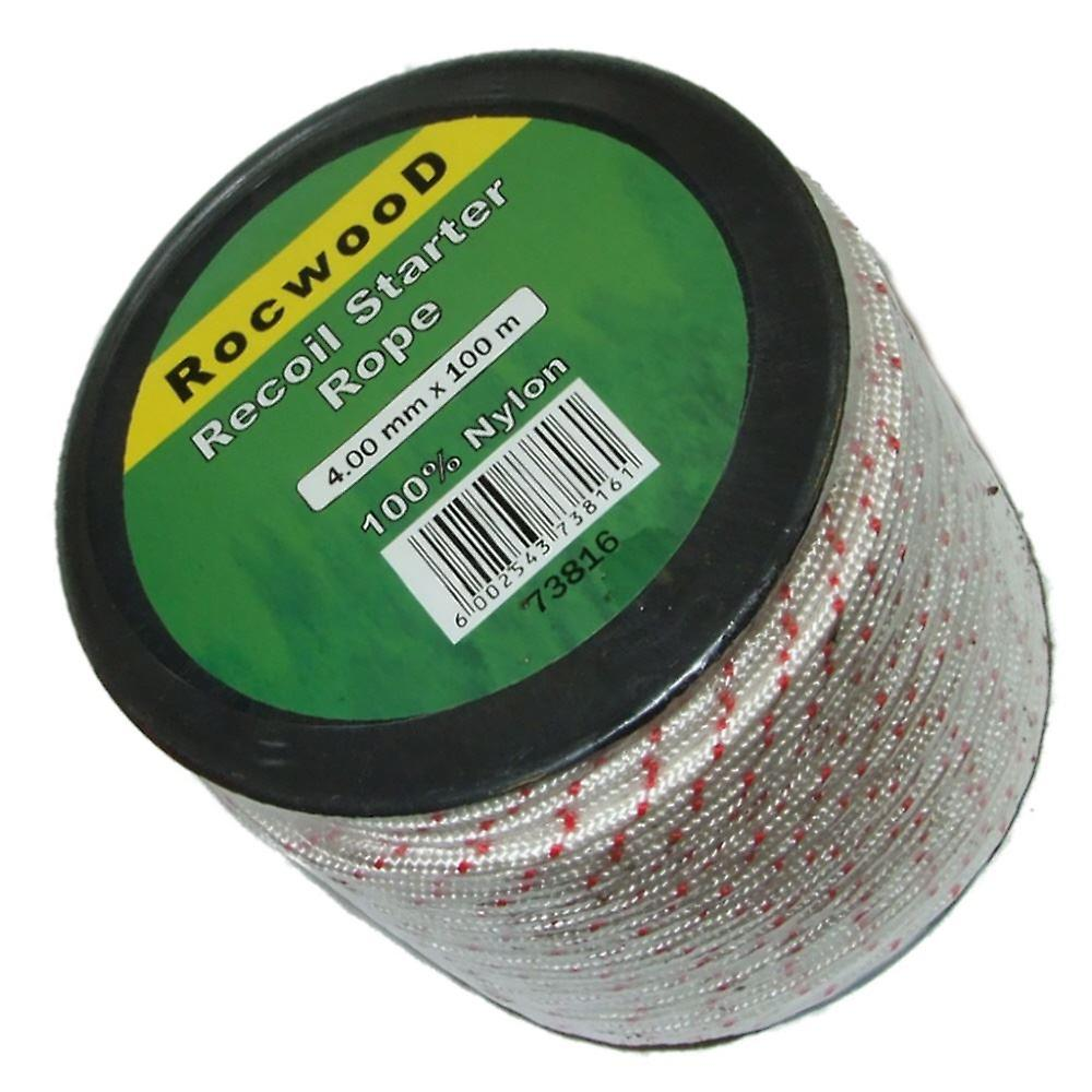 4mm x 100 Metres Starter, Recoil Pull Cord, Rope