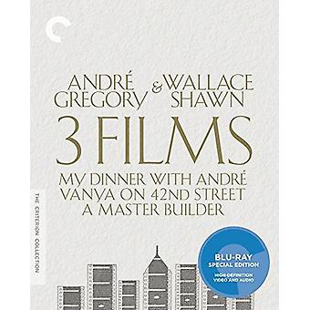 André Gregory & Wallace Shawn [BLU-RAY] USA importerer