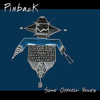 L'importation de certaines voix Offcell [Vinyl] USA Pinback-