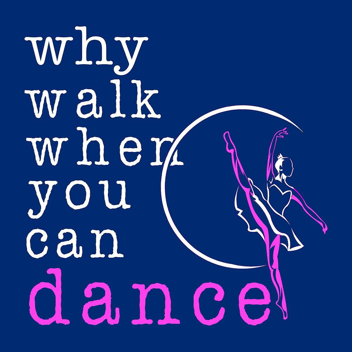 Bailarina de por qué caminar Varsity Jacket niños