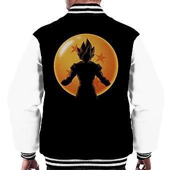 Saiyaner Dragon Ball silhuett Dragon Ball Super menn Varsity jakke