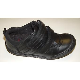 Hush Puppies jongens Wano School schoenen zwart F montage