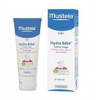 Mustela Hydra Baby Face 40 ml (Childhood , Children's Hygiene , Creams And Lotions )