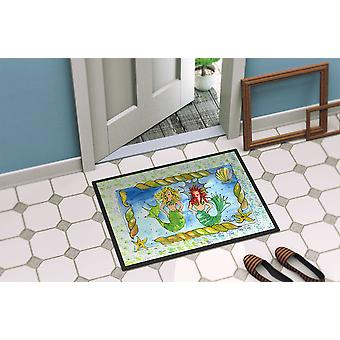 Carolines Treasures  8083-MAT Mermaid  Indoor or Outdoor Mat 18x27 8083 Doormat