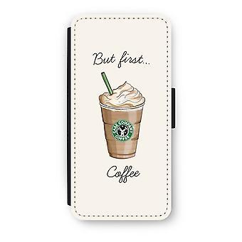 iPhone 5c Flip tapauksessa - mutta ensimmäinen Kahvin