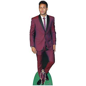Neymar Footballer Lifesize Cardboard Cutout / Standee / Standup / Standee