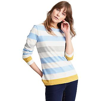 Joules Womens/Ladies Z Harbour Breathable Long Sleeve Jersey T Shirt