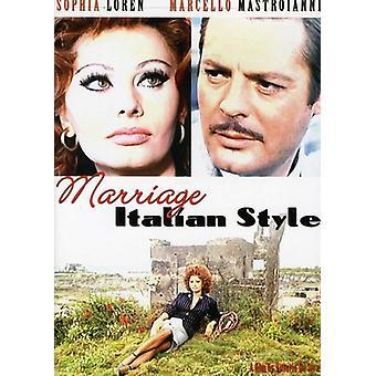 Marriage Italian Style [DVD] USA import