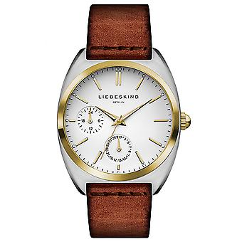 LIEBESKIND BERLIN ladies watch wristwatch leather LT-0042-LM