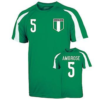 Nigeria Sports trening Jersey (ambrose 5)