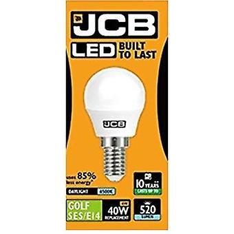 1 X JCB LED Daylight SES E14 Small Screw Golf Ball Mini Globe Lamp 6500K Light Bulb 40W Equivalent[Energy Class A+]