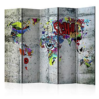 Paravento - Graffiti World [Room Dividers]