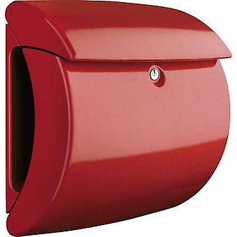 Letterbox Burg Wächter 35600 PIANO 886 Plastic Red Key